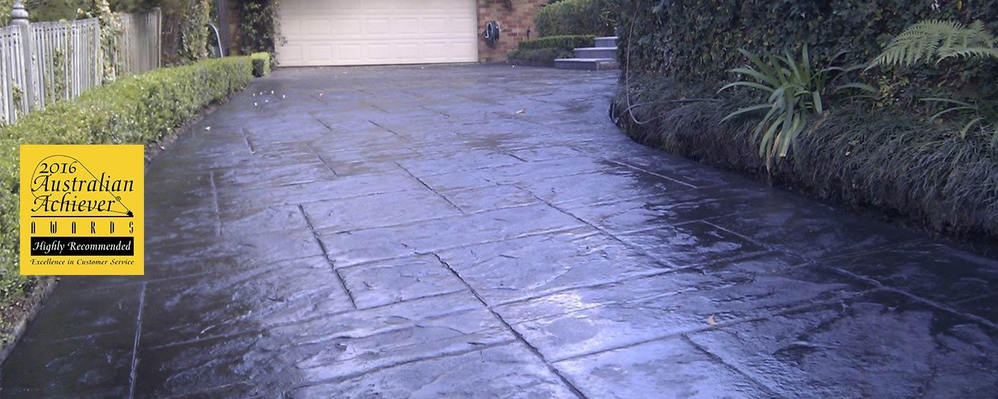 Stamped Concrete Sydney