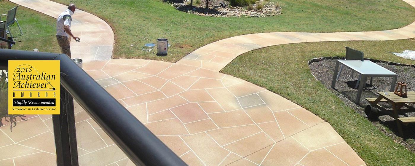 Concrete Patio Design Photos