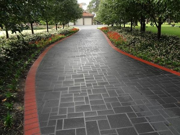 Concrete Driveway Designs Photos Wizcrete