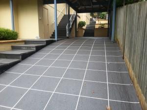 Concrete-Driveway-resurfaced- -Pymble Sydney Wizcrete