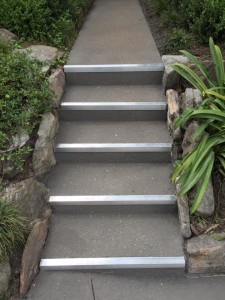 Wizcrete Repairs damaged steps with concte resurfacing